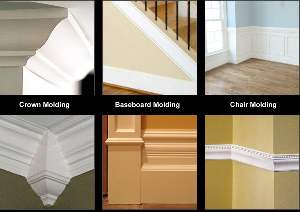 Quality Molding – Crown Moulding–Chair Railing-Baseboards